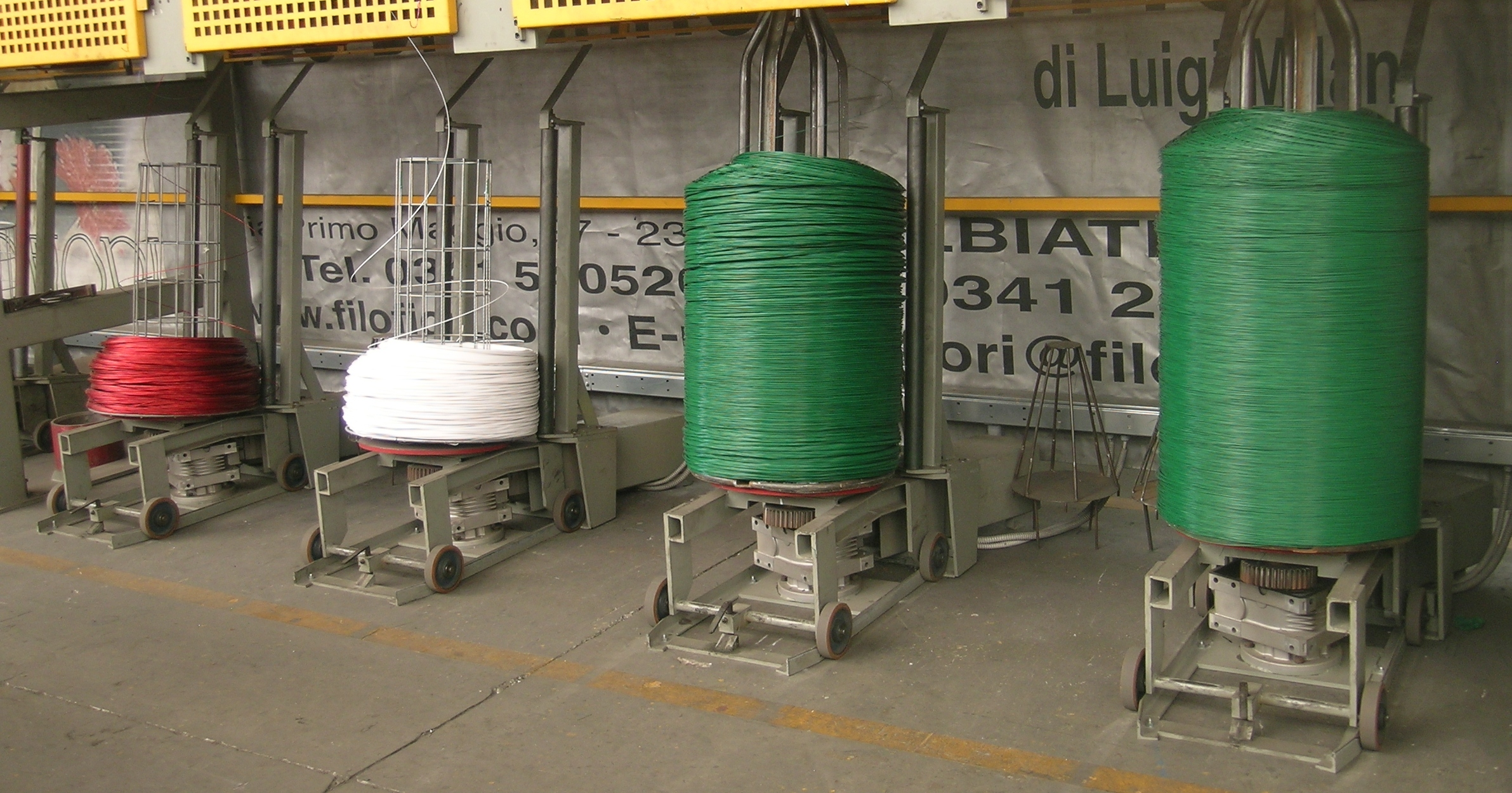 EMERGENZA COVID 19 WE SUPPLY IRON WIRE